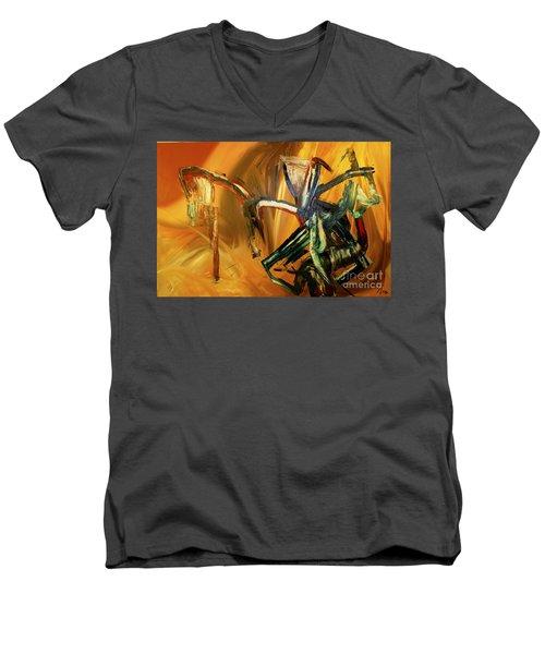 Undergrowth Disturbed Men's V-Neck T-Shirt