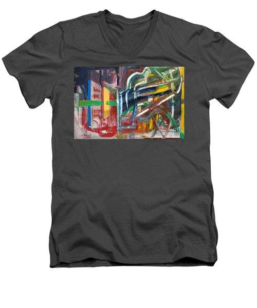 Undergrowth IIi Men's V-Neck T-Shirt