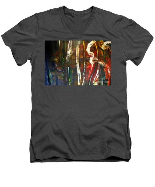 Undergrowth Iv Men's V-Neck T-Shirt
