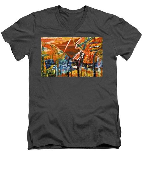 Undergrowth V Men's V-Neck T-Shirt