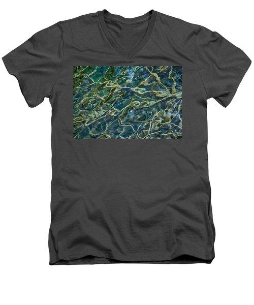 Underwater Roots Men's V-Neck T-Shirt