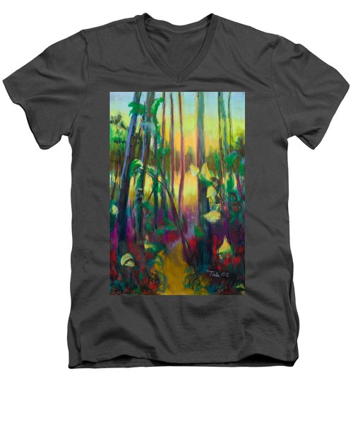 Unexpected Path - Through The Woods Men's V-Neck T-Shirt