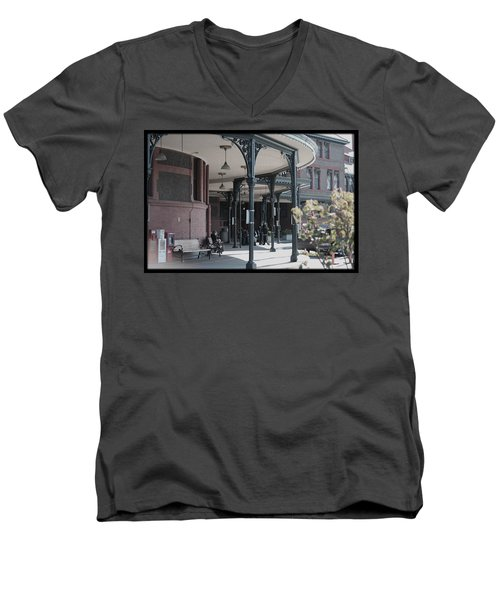 Union Street Station Men's V-Neck T-Shirt