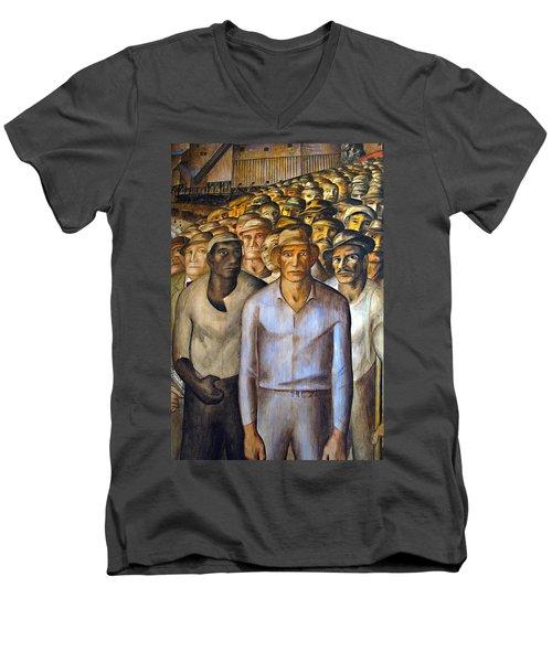Unite Men's V-Neck T-Shirt by Joe Schofield
