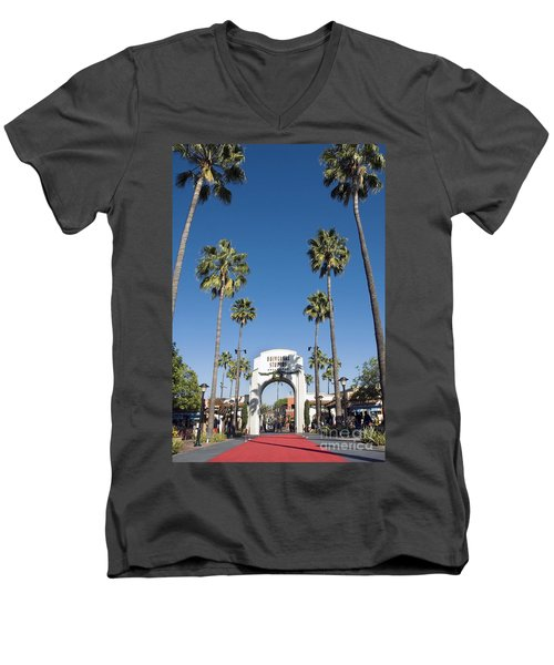 Universal Studios Red Carpet Men's V-Neck T-Shirt