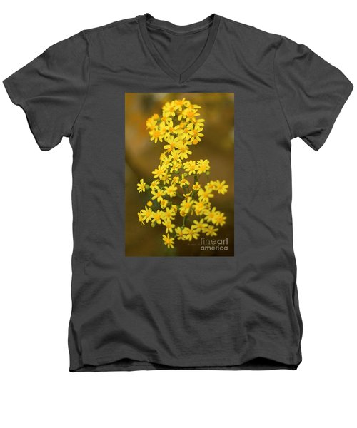 Unknown Flower Men's V-Neck T-Shirt