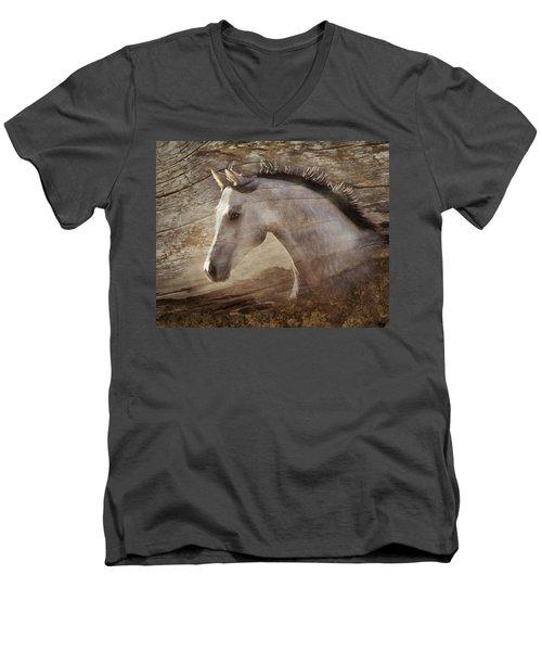 UNO Men's V-Neck T-Shirt by Melinda Hughes-Berland