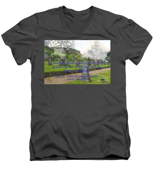 Until We Make Peace Men's V-Neck T-Shirt