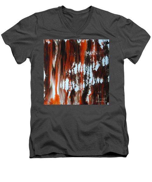 Sunrise Of Duars Men's V-Neck T-Shirt