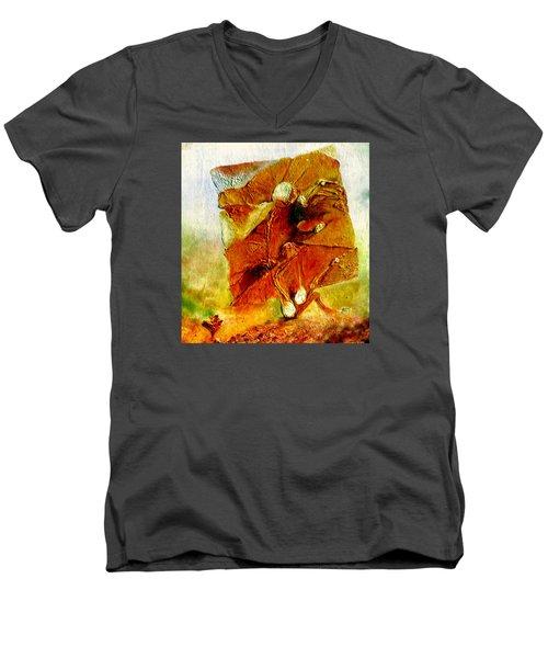 Untitled Men's V-Neck T-Shirt by Henryk Gorecki