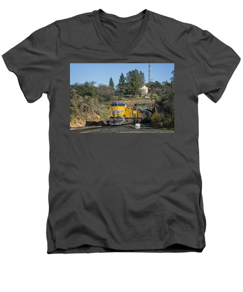 Up 8267 Men's V-Neck T-Shirt