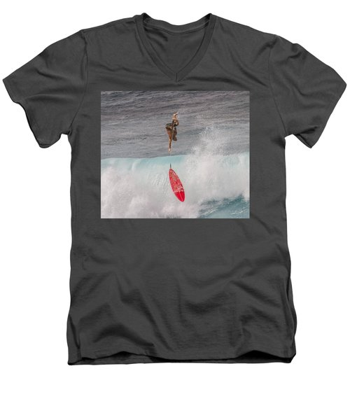 Up And Down Men's V-Neck T-Shirt