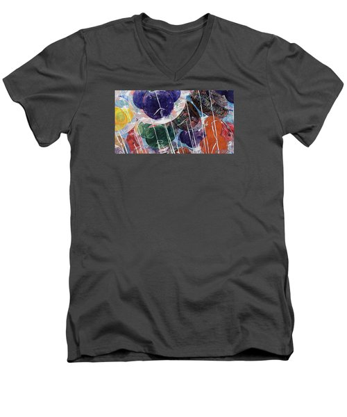 Up At Walt's Place Men's V-Neck T-Shirt by Jeffrey S Perrine