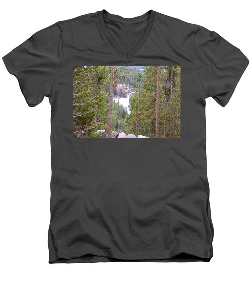 Upper Falls Men's V-Neck T-Shirt