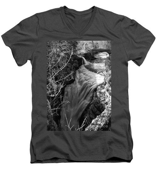 Upper Taughannock Men's V-Neck T-Shirt