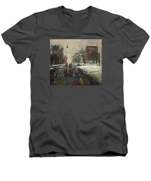 Urban Crossroad Men's V-Neck T-Shirt