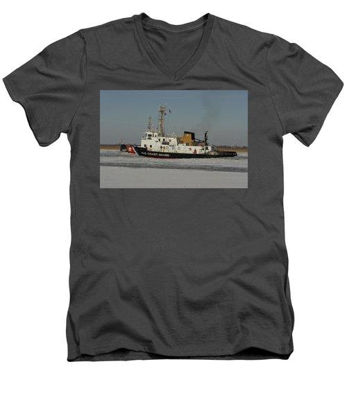 Us Coast Guard Men's V-Neck T-Shirt