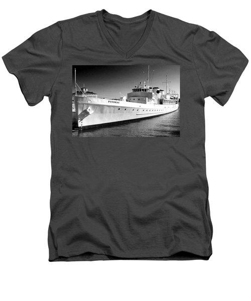 Uss Potomac Men's V-Neck T-Shirt