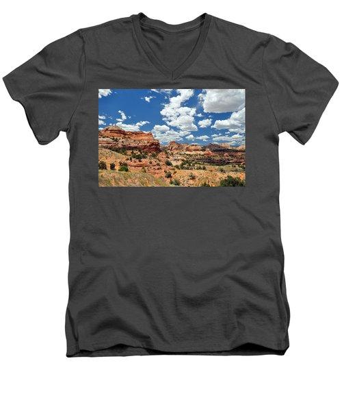 Utah Men's V-Neck T-Shirt