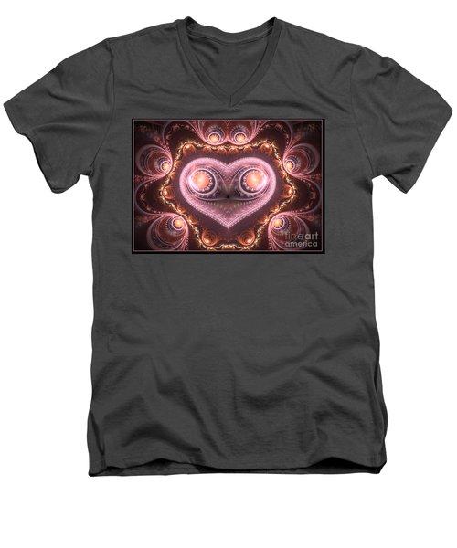 Valentine's Premonition Men's V-Neck T-Shirt