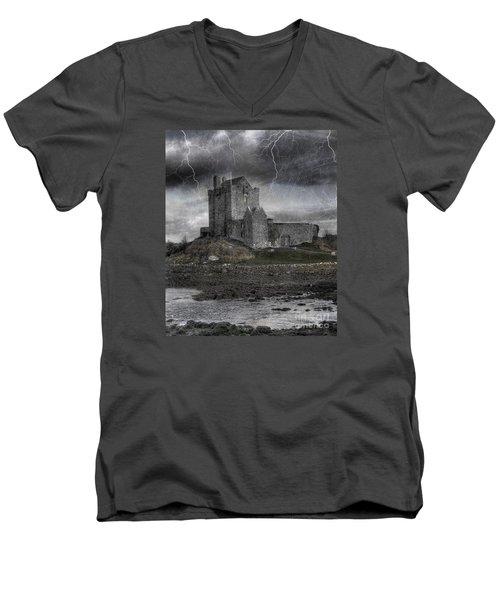 Vampire Castle Men's V-Neck T-Shirt