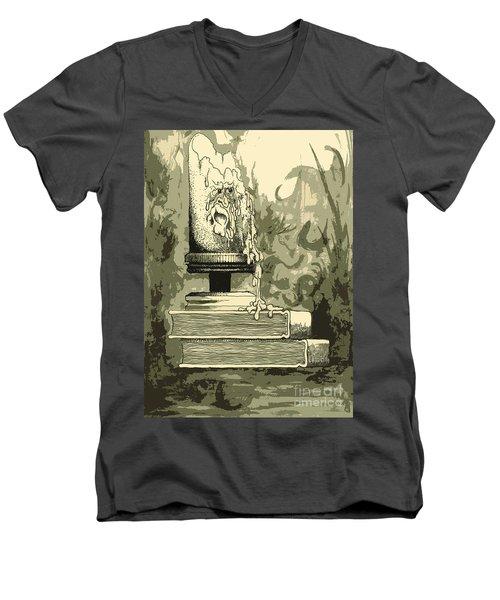 Bougie Men's V-Neck T-Shirt