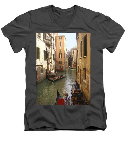 Venice Gondolas Men's V-Neck T-Shirt
