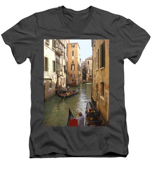 Venice Gondolas Men's V-Neck T-Shirt