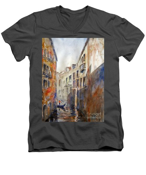 Venice Travelling Men's V-Neck T-Shirt