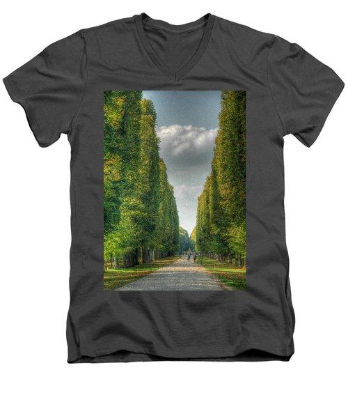 Versailles Promenade Men's V-Neck T-Shirt