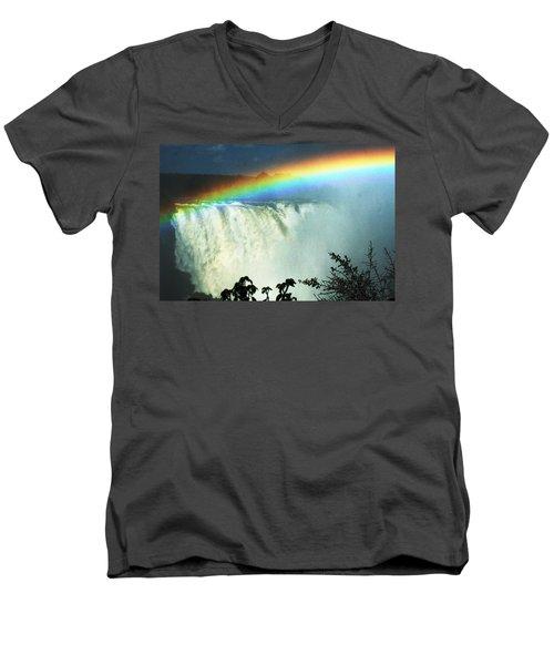 Victoria Falls Men's V-Neck T-Shirt