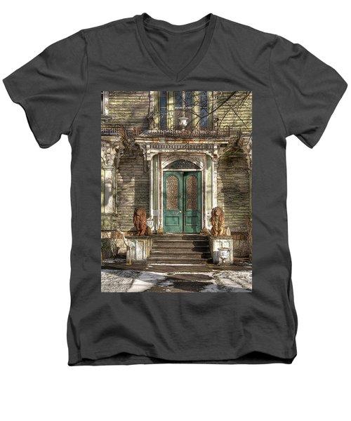 Victorian Entry Men's V-Neck T-Shirt