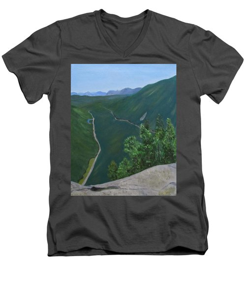 View From Mount Willard Men's V-Neck T-Shirt