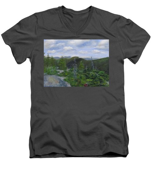 View From Noon Peak Men's V-Neck T-Shirt