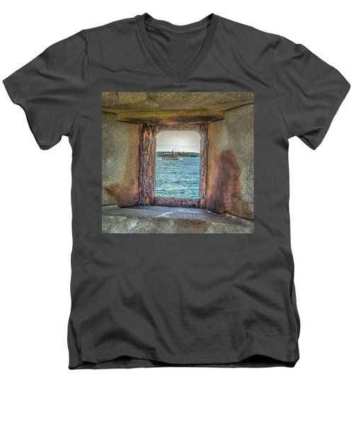 View From The Fort Men's V-Neck T-Shirt
