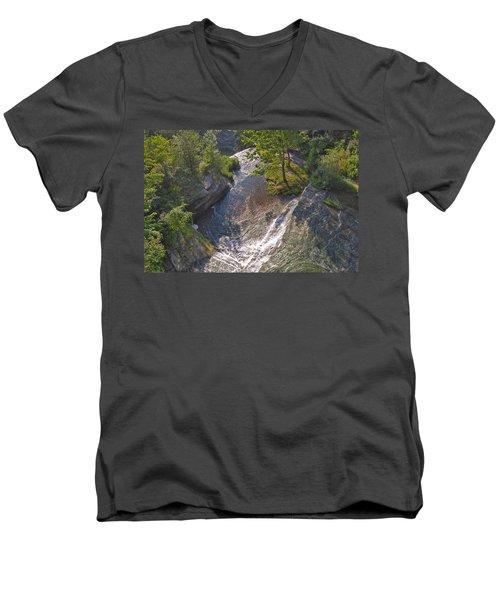 View In Color Men's V-Neck T-Shirt