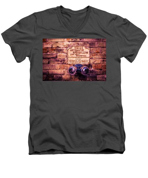 Viking Sprinkler Men's V-Neck T-Shirt