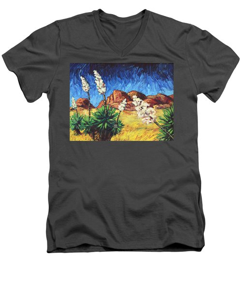 Vincent In Arizona Men's V-Neck T-Shirt