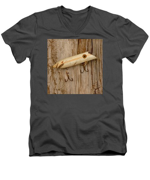 Vintage Fishing Lure Men's V-Neck T-Shirt