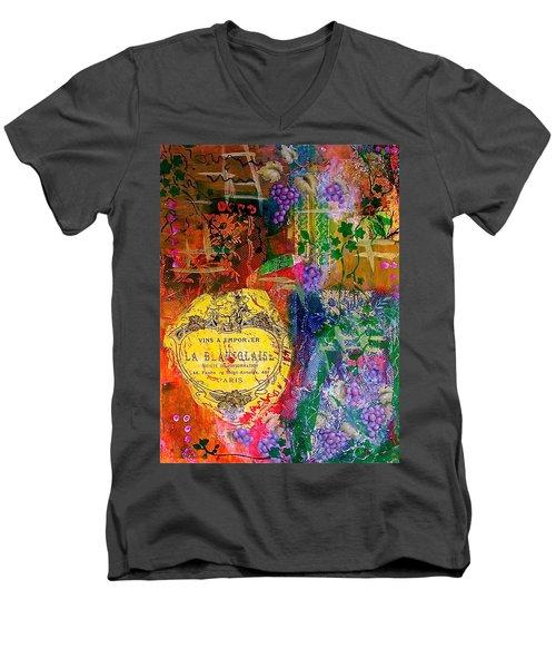 Vintner Label Men's V-Neck T-Shirt