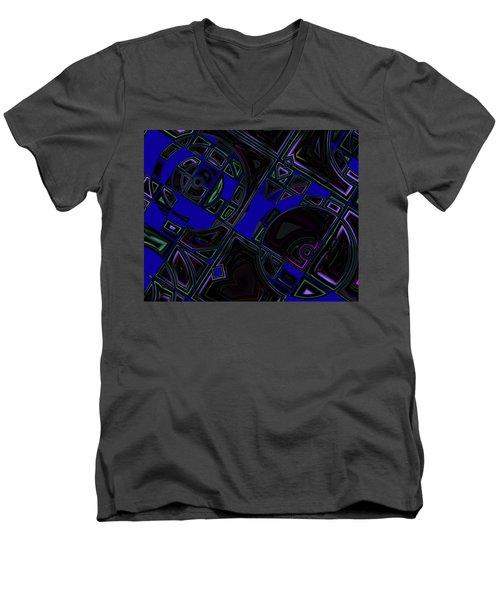 Vinyl Blues Men's V-Neck T-Shirt