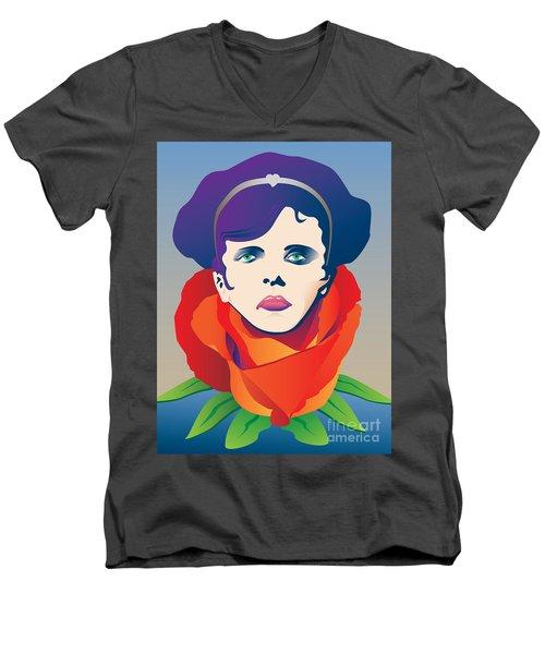 Violetta Of La Traviata Men's V-Neck T-Shirt