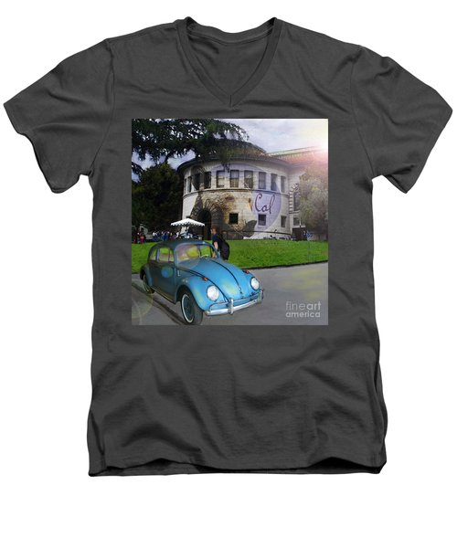 Vw - Uc Berkeley Men's V-Neck T-Shirt