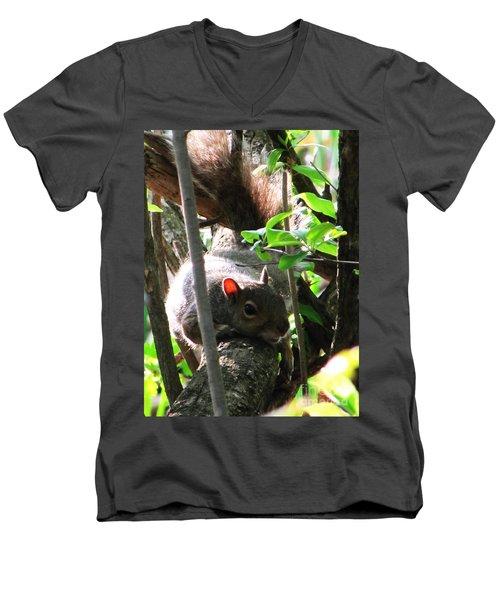 Wait A Minute Men's V-Neck T-Shirt