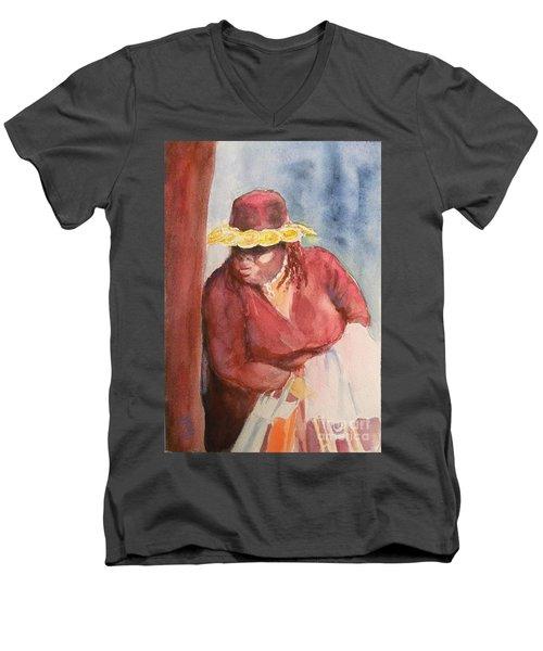 Waiting 1 Men's V-Neck T-Shirt