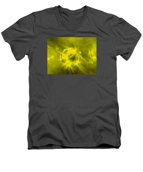 Waiting In Hope Men's V-Neck T-Shirt by Jeff Iverson