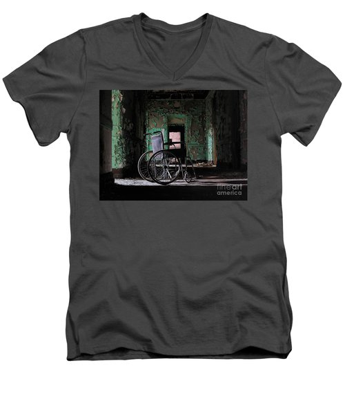 Waiting In The Light Men's V-Neck T-Shirt
