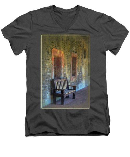 Waiting Men's V-Neck T-Shirt by Joan Carroll