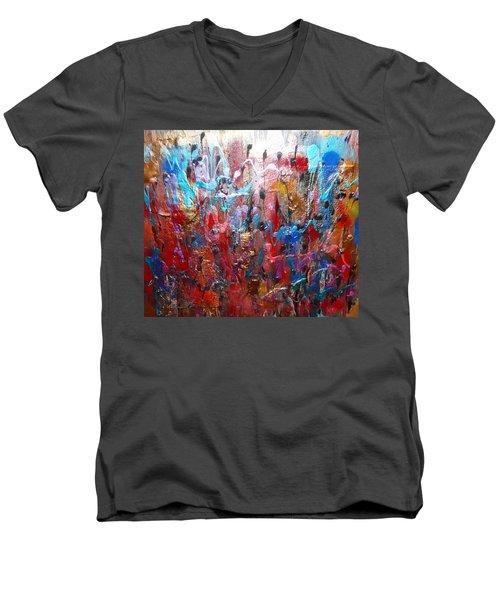walk In Love Men's V-Neck T-Shirt