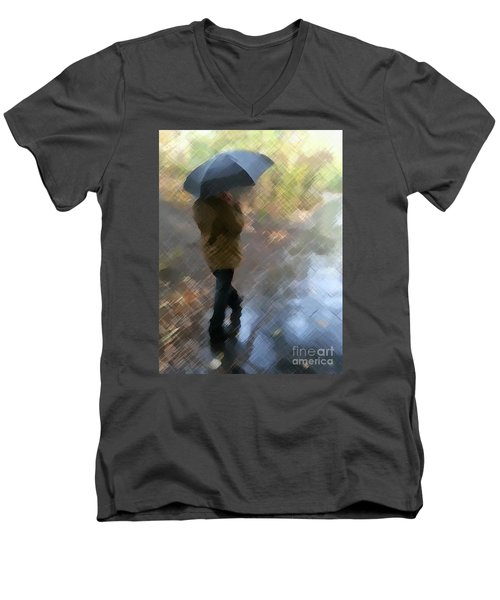 Walk In The Park Men's V-Neck T-Shirt